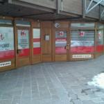 Glas Beklebung Innsbruck Tirol